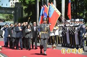 國軍頻出包 蔡總統今參加三軍五校院聯合畢典
