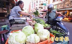 緊盯菜價!農委會:2000噸庫存可釋出