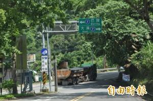 山區7條重要公路   下午1點陸續封路