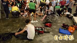 松山車站台鐵車廂驚爆 25名乘客受傷