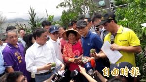 台東農損逾6.5億 林全允先撥3億元救災