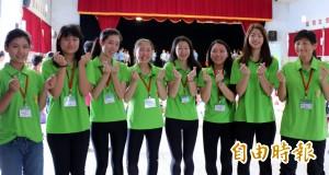 海外華裔青年下鄉 後壁國小學童樂學英語