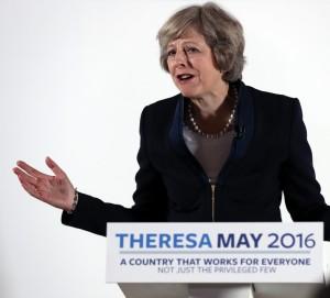 英國第2位女首相梅伊 本週三接任卡麥隆