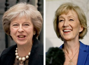 李德森宣布退選 梅伊確定任英國第2位女首相