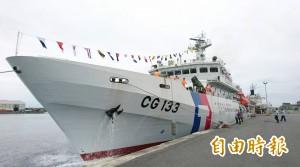 展現護漁及捍衛主權決心! 海巡署再派台東艦至太平島