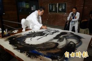 日本畫僧內藤香林 淡水文化園區禪想開展