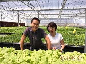 青農創業正夯 姊弟合租3分農地平均月營收30萬元