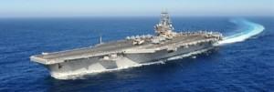 美航母到南海 中國軍事評論家嗆 「成中國的活靶子」