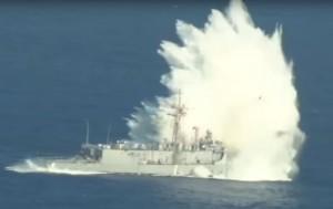 台灣花55億買的軍艦竟...與軍演「靶船」同型