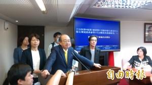 社福委員會主席台被佔 柯建銘:今天會議不開了!