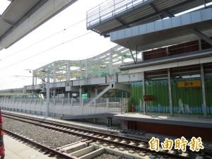 台中捷運G13鄰近台鐵新大慶站 2站將建連通道