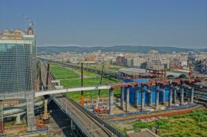 捷運環狀線施工 30日0點起封閉台一線高架道