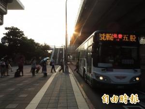 新北五股、泰山3線免費巴士 未來不能停北車