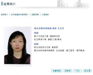 獨家》台北都發局副局長 敲定新北都更處長王玉芬