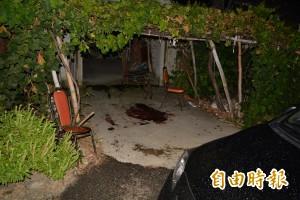線西凶殺命案現場畫面曝光 滿地血跡觸目驚心