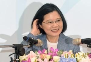 台灣智庫:蔡英文滿意度49.1%、不滿意度36%