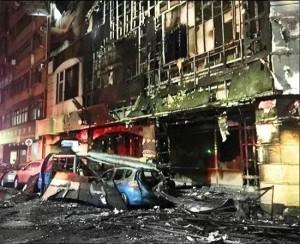 車禍釀災燒毀整棟理容院 檢起訴肇逃駕駛