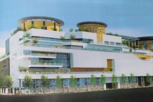 竹北停8BOT打造購物中心 擁當地最大空中花園