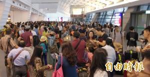 暑假來台觀光旅遊 中國遊客佔最多
