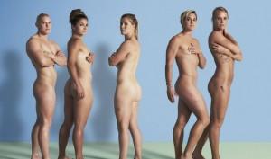 里約奧運「亮點」 英國女子橄欖球員全裸宣傳