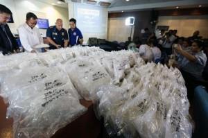菲國逮中國毒販  查獲30公斤值6千8百萬冰毒