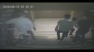夜店械鬥影片曝光! 兇狠行兇卻狼狽落跑