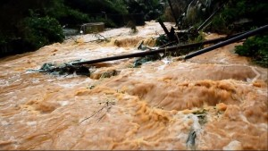 7縣市發布大雨特報 泥水沖入澎湖花嶼家戶