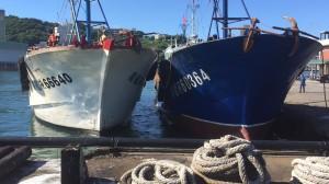 中國漁船偽裝台灣漁船越界捕魚 海巡扣回 2船