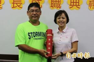 屏東市豐田里長今就職 感謝選民支持