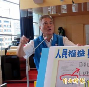 林佳龍聲援國道收費員 藍議員:想想BRT司機