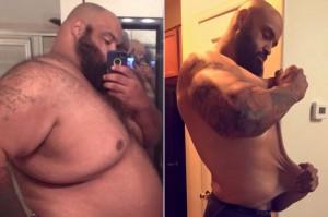 減肥神招! 巨胖男這樣做 竟甩150公斤