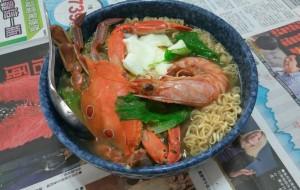 澎湖人的泡麵超豐盛!網友推這才是「正港海鮮泡麵」