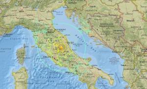 6.4強震襲擊義大利  羅馬感受明顯晃動