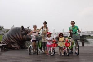 讓親子共享騎車樂趣 台南有兒童專屬自行車