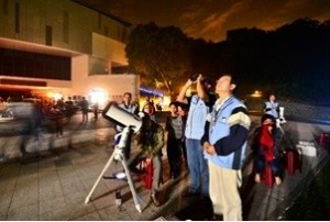 「親愛的,我把月亮摘下來了」中秋來遊南瀛天文館