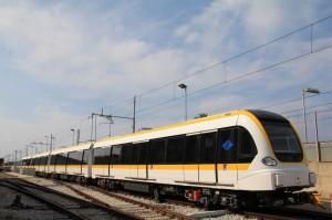 新北捷運環狀線原型車 今在義大利出廠
