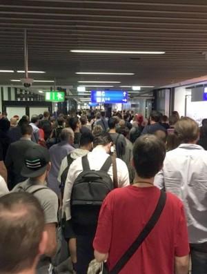 旅客突破安檢口 德國法蘭克福機場緊急疏散