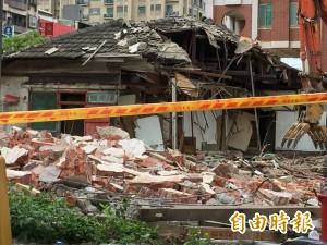新竹保甲宿舍被拆 文化團體發起連署籲公民參與