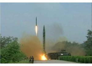 北韓公布發射導彈畫面 炫耀意味十足