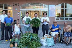 180戶淡水農友愛心灌溉  3年捐4000斤「良心菜」