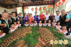 鯉魚伯公文化祭 東勢熱鬧像過年
