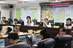 台南市宣布 明上午上班上課、下午停班停課