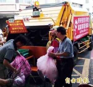 受莫蘭蒂颱風影響 高市明暫停收運垃圾