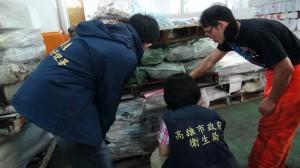 查扣5萬多公斤問題海鮮   草蝦過期11年