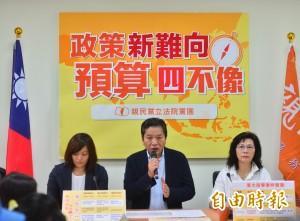 蔡政府推「新南向」  親民黨團批預算「四不像」