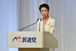 蓮舫當選黨魁  56.9%日本民眾對她有期待