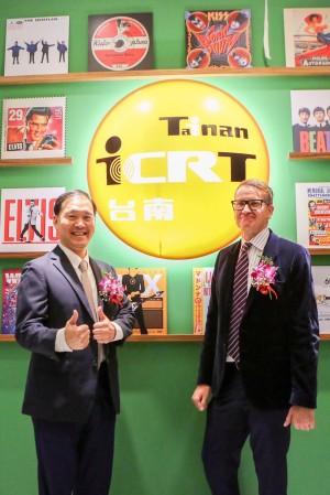 中信金融管理學院開學 「ICRT Tainan」台同步開播