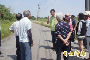 市議員李退之:南112線將拓寬為10米雙線大道