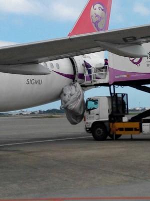 復興航空班機逃生梯 無故彈出延誤旅客