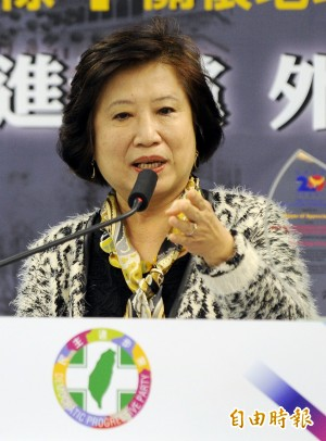 楊黃美幸:台灣應積極爭取國際支持 NGO應走出去